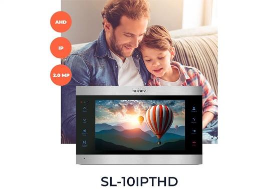 Новый Slinex SL-10IPTHD: видеодомофон с широкими возможностями!